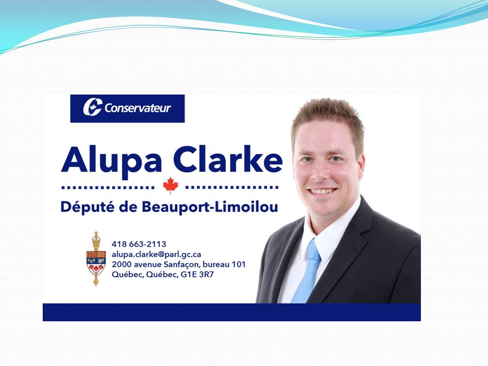 Alupa Clarke, député