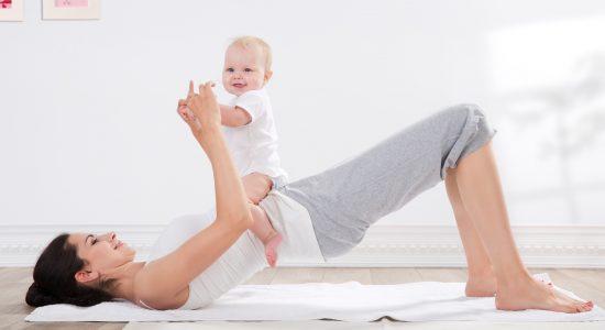 Atelier : Pilates postnatal (maman/bébé)