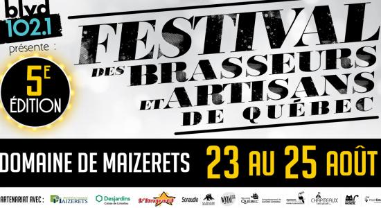 Festival des brasseurs et artisans de Québec