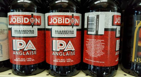 IPA anglaise Jobidon | IGA Pierre Jobidon