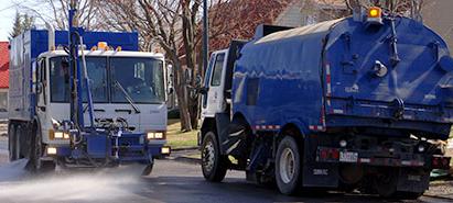 Début du nettoyage des rues et de la collecte de résidus verts - Monsaintsauveur