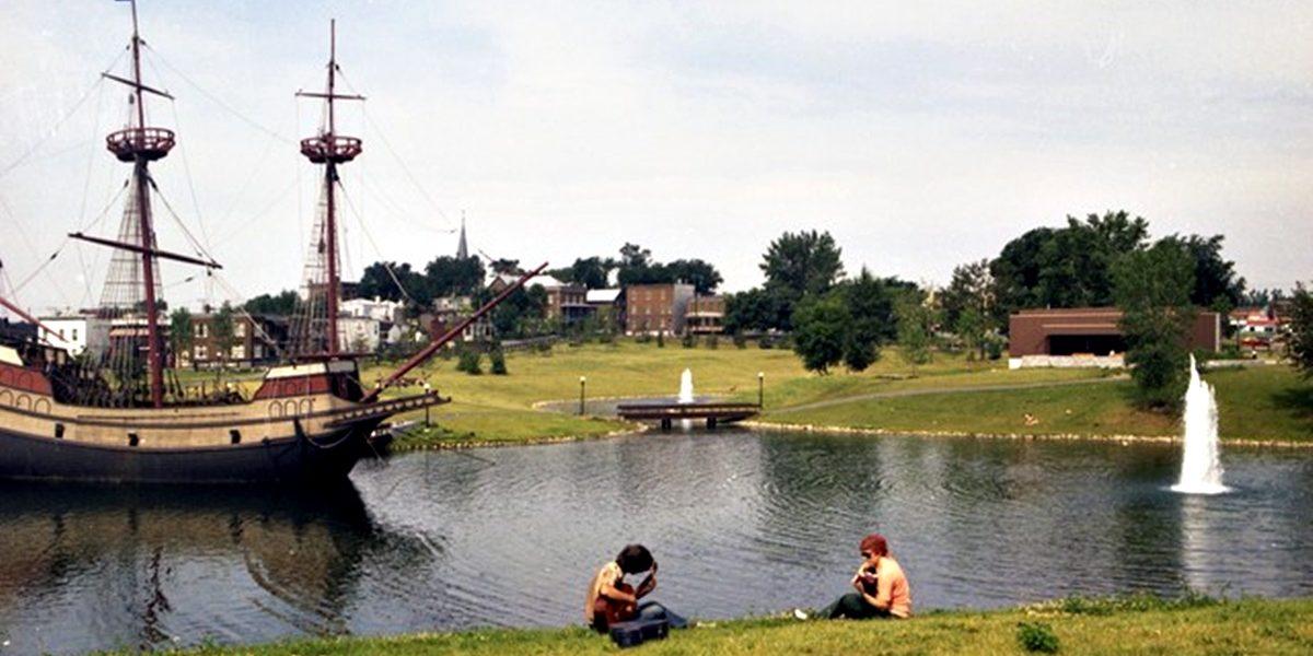 Limoilou dans les années 1970 (23) : le parc Cartier-Brébeuf et sa Grande Hermine | 2 juillet 2017 | Article par Jean Cazes