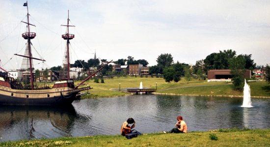 Limoilou dans les années 1970 (23) : le parc Cartier-Brébeuf et sa Grande Hermine - Jean Cazes