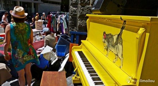 Bazar des ruelles 2017, piano