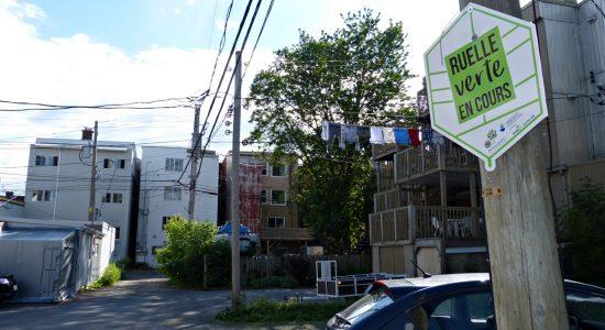 Quatre projets de ruelles vertes démarrés dans le Vieux-Limoilou - Raymond Poirier