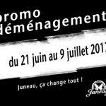 Promo déménagement - Juneau