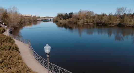 Au bord de la rivière, <em>Où tu vas quand tu dors en marchant…?</em> - Suzie Genest