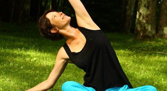 Yoga au Parc