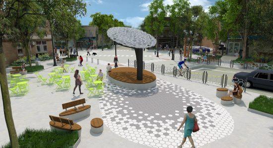 La future Place Limoilou se révèle : premières images - Raymond Poirier