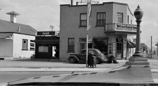 Limoilou dans les années 1940 (25) : Épicerie Villebon - Jean Cazes