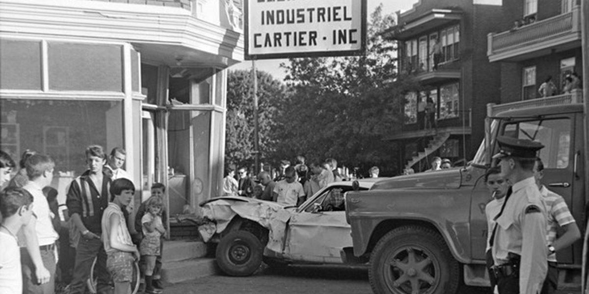 Limoilou dans les années 1960 (81) : accident sur la 8e Avenue | 8 octobre 2017 | Article par Jean Cazes