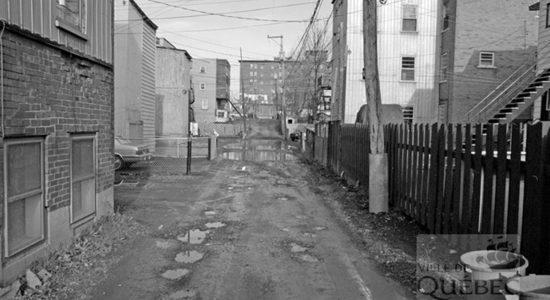 Limoilou dans les années 1980 (10) : avant les ruelles vertes - Jean Cazes