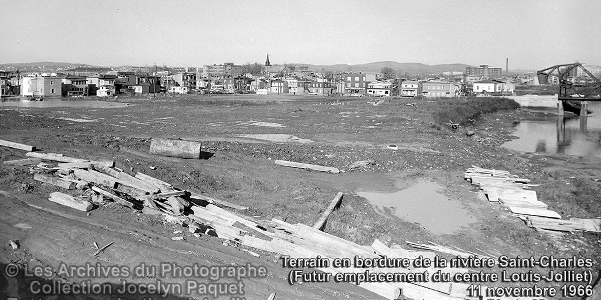 Limoilou dans les années 1960 (82) : futur emplacement du centre Louis-Jolliet | 20 août 2017 | Article par Jean Cazes