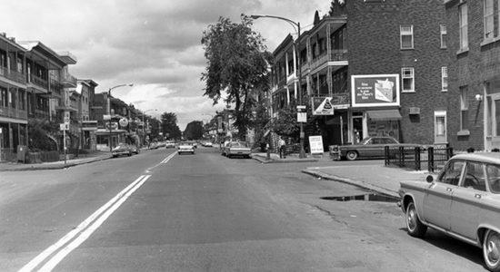 Limoilou dans les années 1960 (81) : intersection 3e Avenue et 9e Rue - Jean Cazes