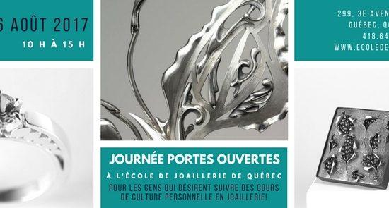 Journée portes ouvertes de L'École de joaillerie de Québec