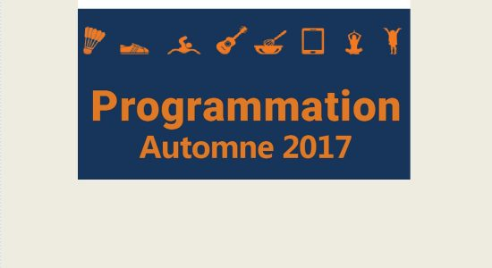 Programmation automne 2017 au Centre Mgr Marcoux