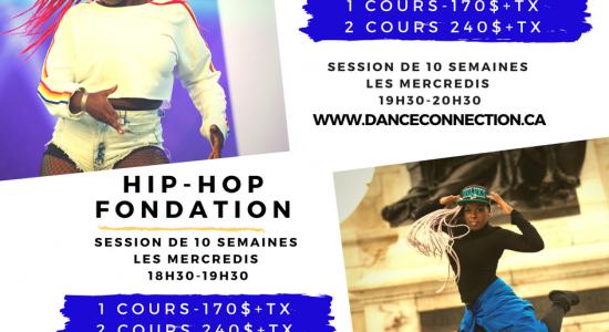 Cours Dancehall et Hip-Hop au Cégep Limoilou
