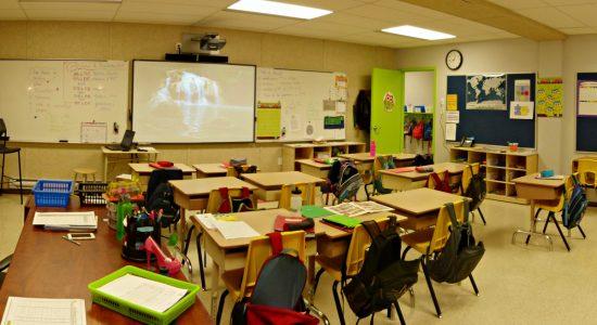 École de la Grande-Hermine : des locaux temporaires vite adoptés - Jean Cazes