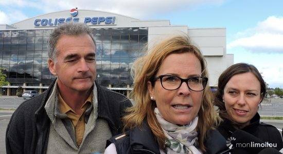 Anne Guérette prête à céder le Colisée Pepsi pour 1 $ - Céline Fabriès