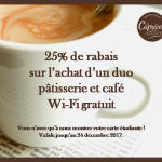 Promo étudiante - Caprices d'Alice (Les) - Café Castelo 1re Avenue