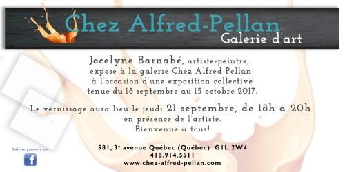 Exposition des artistes membres permanents – Galerie Chez Alfred-Pellan