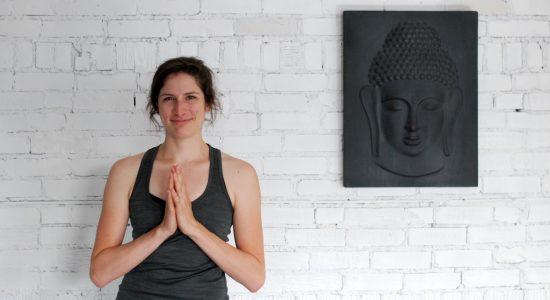 À la découverte du studio Namaste Yoga Limoilou - Stéphanie Vincent
