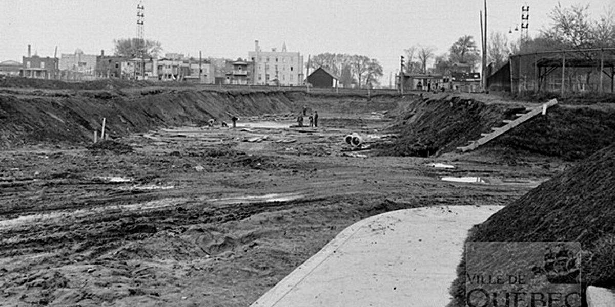 Limoilou dans les années 1940 (26) : construction du viaduc de la 18e Rue | 22 octobre 2017 | Article par Jean Cazes