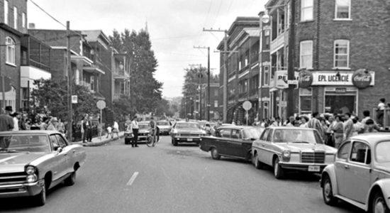 Limoilou dans les années 1960 (84) : accident sur la 8e Avenue - Jean Cazes
