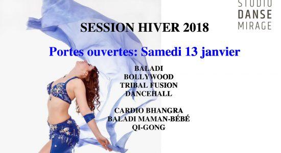 Portes ouvertes au Studio Danse Mirage samedi le 13 janvier…