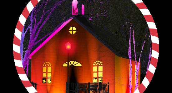 Temps des fêtes au Domaine Maizerets: Illuminé, tissé serré, à votre santé!