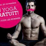 Yoga gratuit pour tous les hommes - Namaste Yoga Limoilou