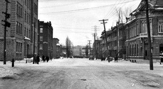 Limoilou dans les années 1940 (29) : la 4e Avenue - Jean Cazes