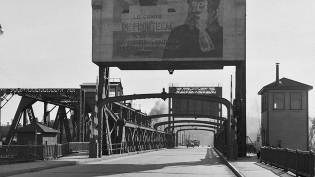 Limoilou dans les années 1940 (28) : le pont de fer Samson | 10 décembre 2017 | Article par Jean Cazes