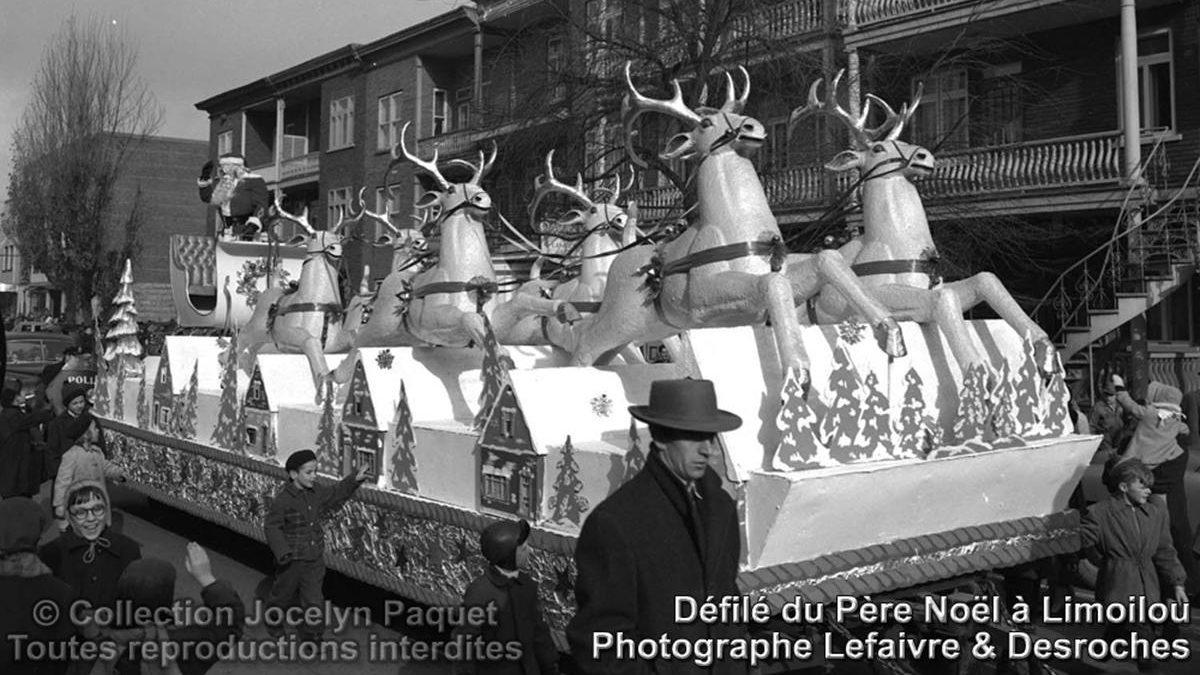 Limoilou dans les années 1950 (37) : la parade du père Noël de la Compagnie Paquet | 24 décembre 2017 | Article par Jean Cazes