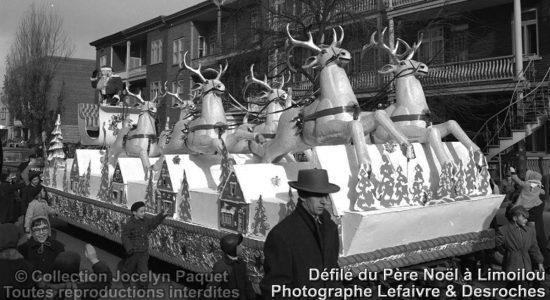Limoilou dans les années 1950 (37) : la parade du père Noël de la Compagnie Paquet - Jean Cazes