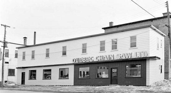 Limoilou dans les années 1950 (38) : entreprise Quebec Chain Saw - Jean Cazes