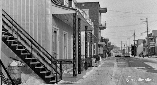 Limoilou dans les années 1960 (88) : rue Papineau - Jean Cazes