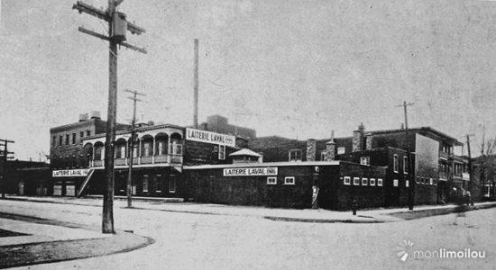 Laiterie Laval. Vers 1930. (Tirée de l'ouvrage Limoilou, un quartier effervescent)