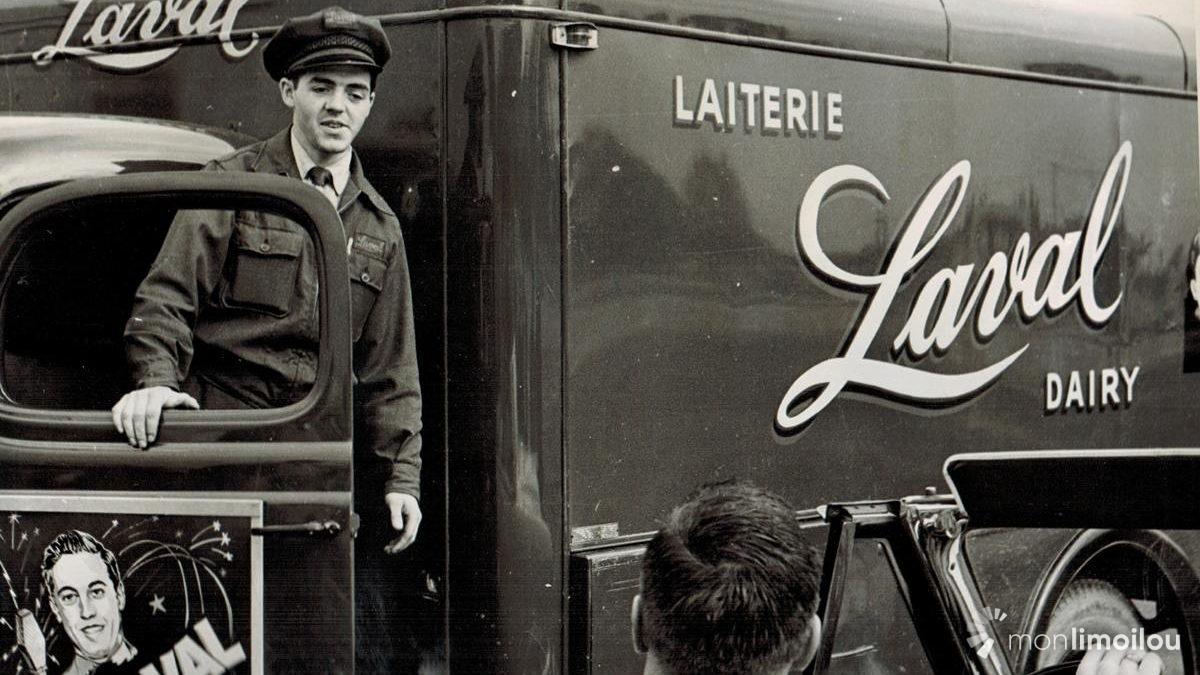 Laiterie Laval. 1951.
