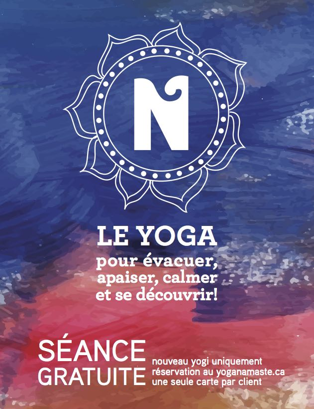 Cours de Yoga Gratuit | Namaste Yoga Limoilou