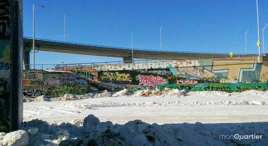 Trois murs légaux pour le graffiti dans la Cité-Limoilou - Céline Fabriès