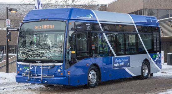 Le midibus du RTC bientôt dans les rues de Québec - Céline Fabriès