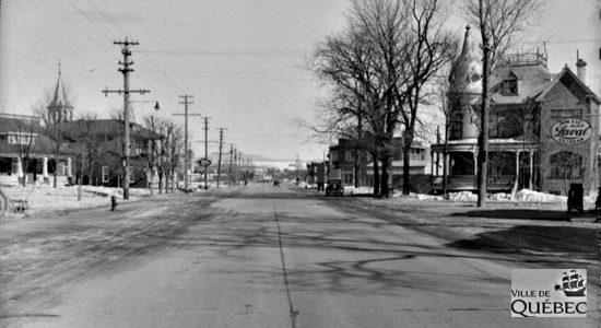 Chemin de la Canardière, 7 mars 1941