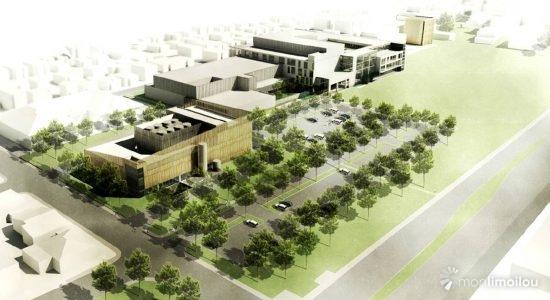 Phase 1 du mégahôpital : un premier coup d'oeil sur le chantier - Jean Cazes