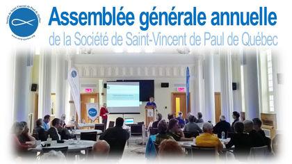 SSVP – Assemblée générale annuelle