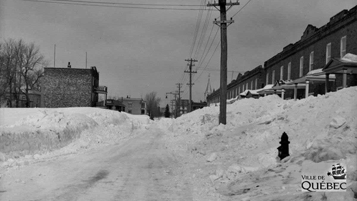 Limoilou dans les années 1940 (31) : la traditionnelle tempête de la Saint-Patrick | 25 mars 2018 | Article par Jean Cazes
