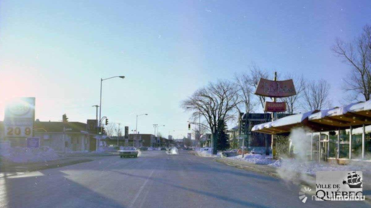 La 1re Avenue et le Marie-Antoinette, direction sud, 15 février 1979