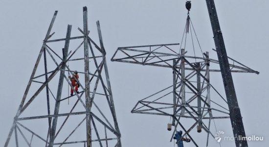 Démantèlement des pylônes d'Hydro-Québec : une page d'histoire tournée - Jean Cazes