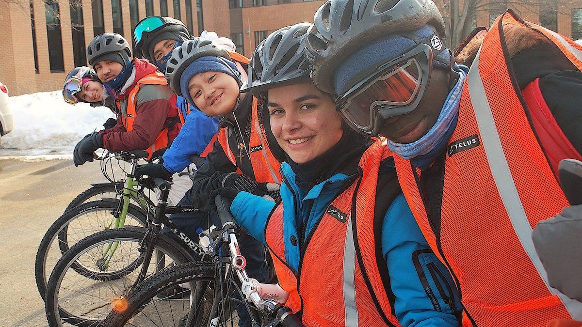 Un défi polaire pour des jeunes du quartier | 23 mars 2018 | Article par Stéphanie Vincent