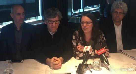 SOS Port de Québec s'oppose au projet Beauport 2020 - Véronique Demers
